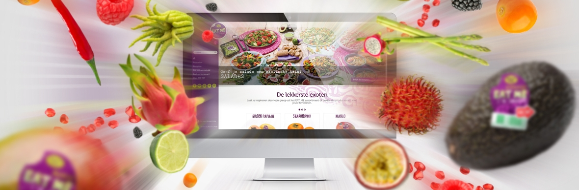EAT ME versterkt positie consumentenmarkt door online positionering  - HVMP Internet Marketing