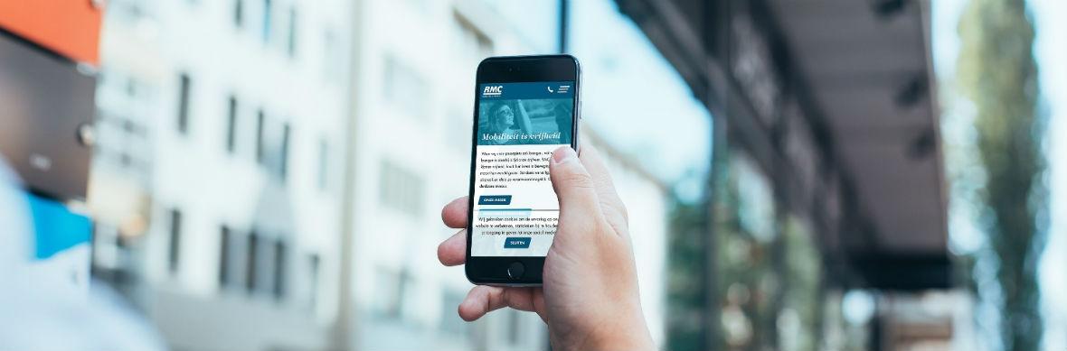 Nieuwe website voor RMC: mobiliteit is vrijheid - HVMP Internet Marketing
